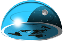 Worlds Last Chance Flat Earth Logo
