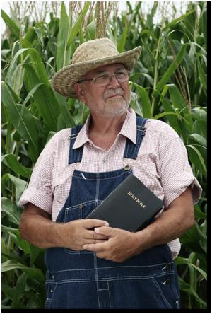 bonden innehav Bibeln