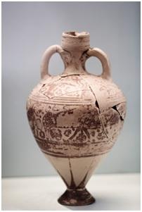 restored vase
