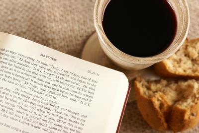 Jugo de uva y Biblia