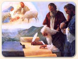 Isaiah recording a vision