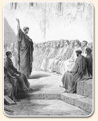 the sabbath - paul preaching to multitude