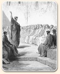 السبت - بولس يبشر الجموع