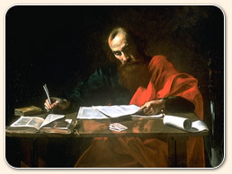 paul writing epistles