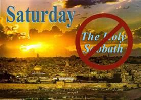 saturday is not the sabbath