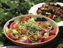 alimentation saine - salade fraîche composée