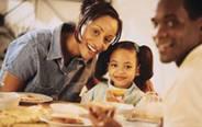 måltid med familjen